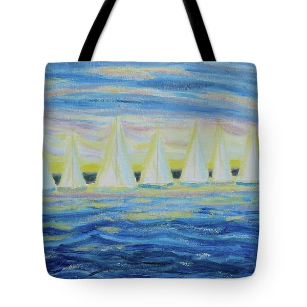 Nantucket Sunrise Tote Bag