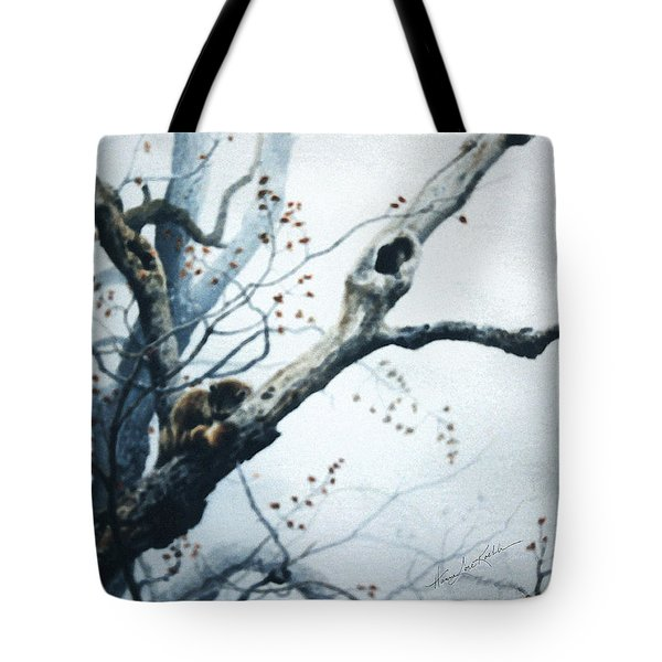 Nap In The Mist Tote Bag by Hanne Lore Koehler