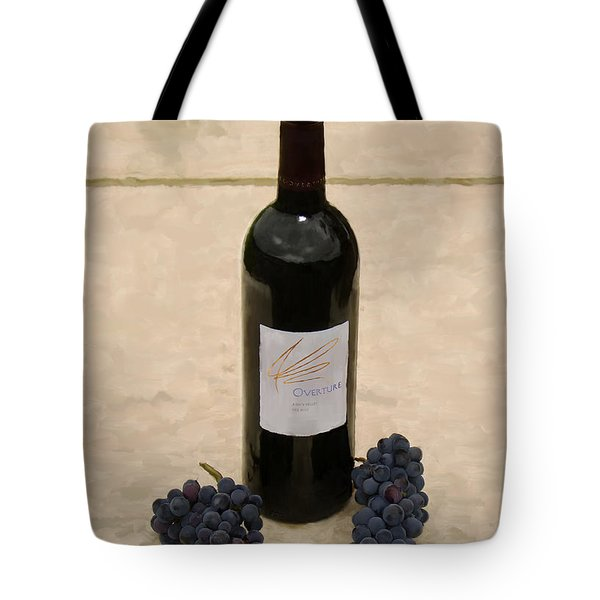 Napa Still Life Tote Bag by Paul Tagliamonte