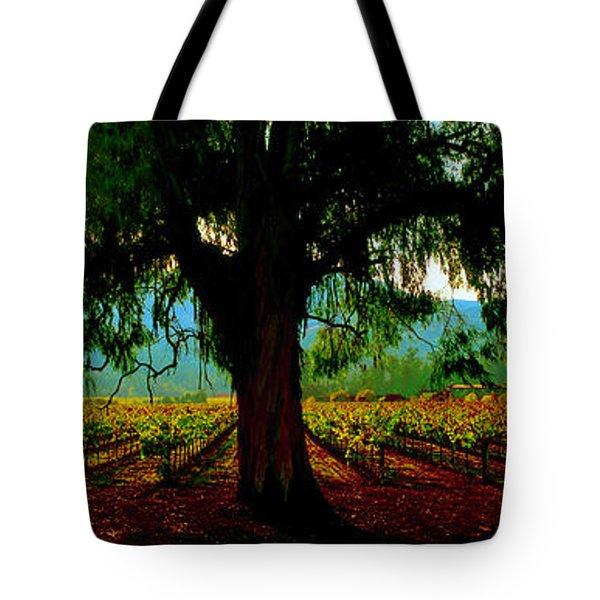 Napa Valley Winery Roadside Tote Bag
