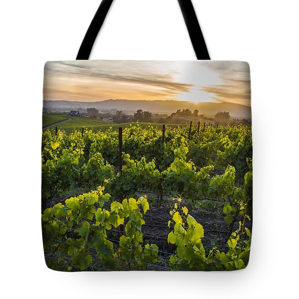 Napa Valley Sunset  Tote Bag