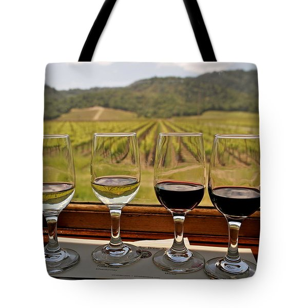 Napa Valley Wine Train Delights Tote Bag