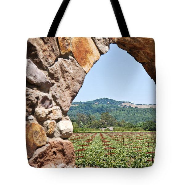 Napa Vineyard Tote Bag