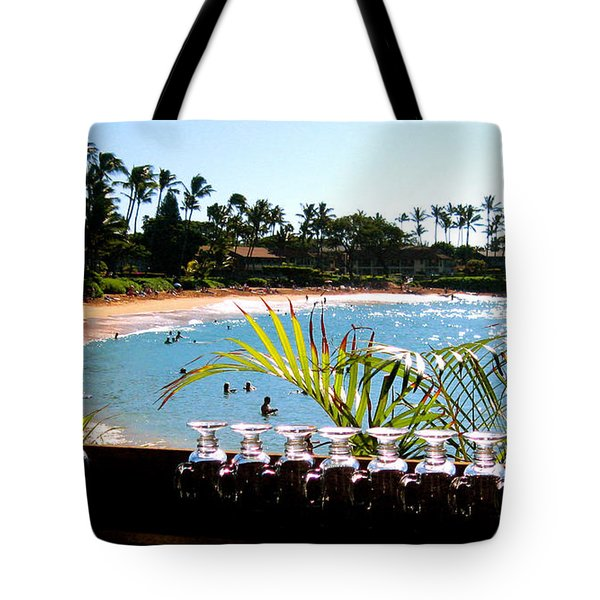Napili Bay Maui Hawaii Tote Bag