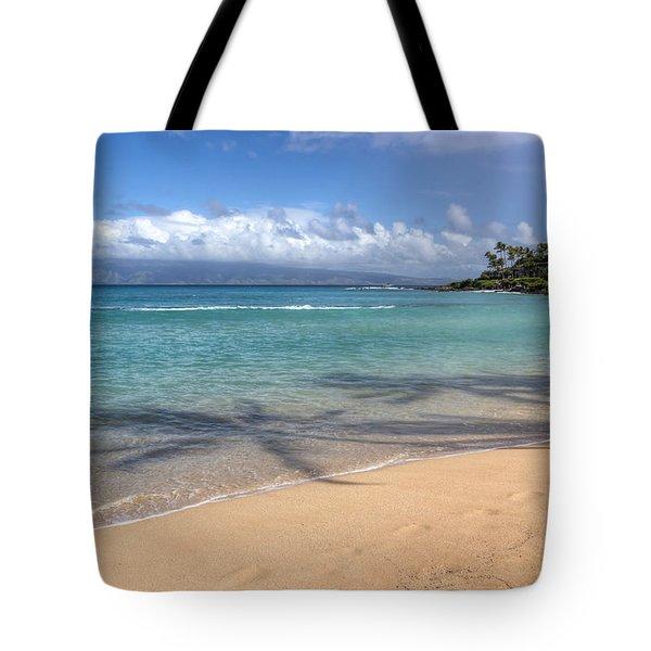 Napili Bay Maui Tote Bag
