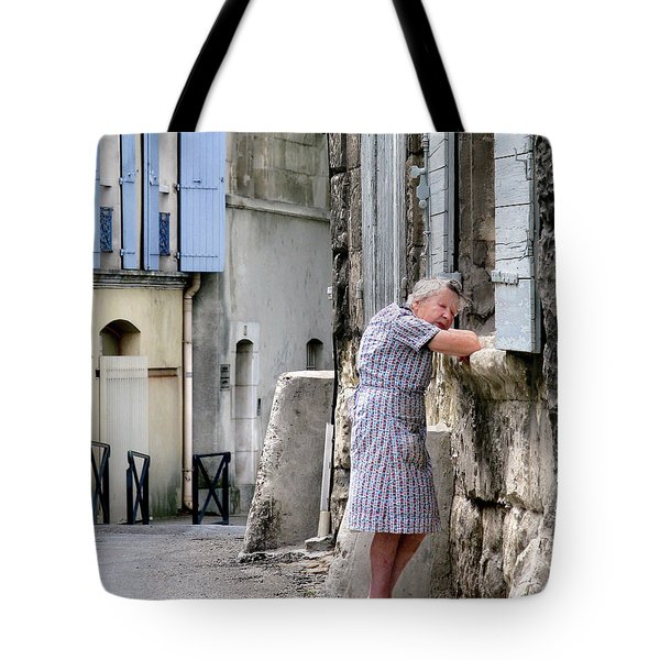 Naptime In Arles. France Tote Bag by Jennie Breeze