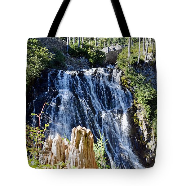 Tote Bag featuring the photograph Narada Falls by Anthony Baatz