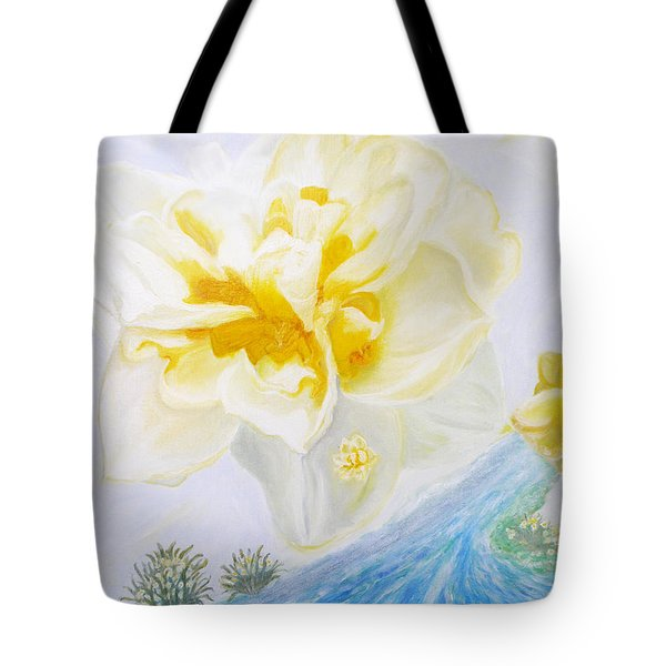 Narcissus Tote Bag by Augusta Stylianou