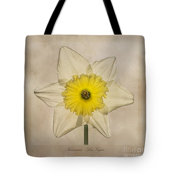 Narcissus Las Vegas Tote Bag by John Edwards