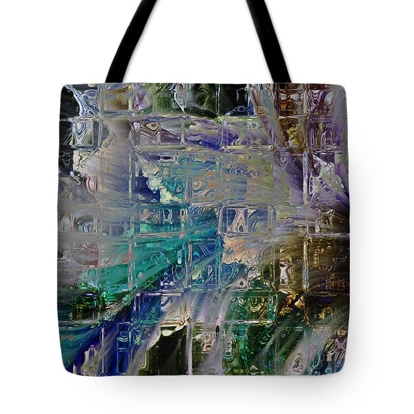 Narrative Splash Tote Bag