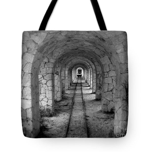 Arched Narrow Gauge Tote Bag