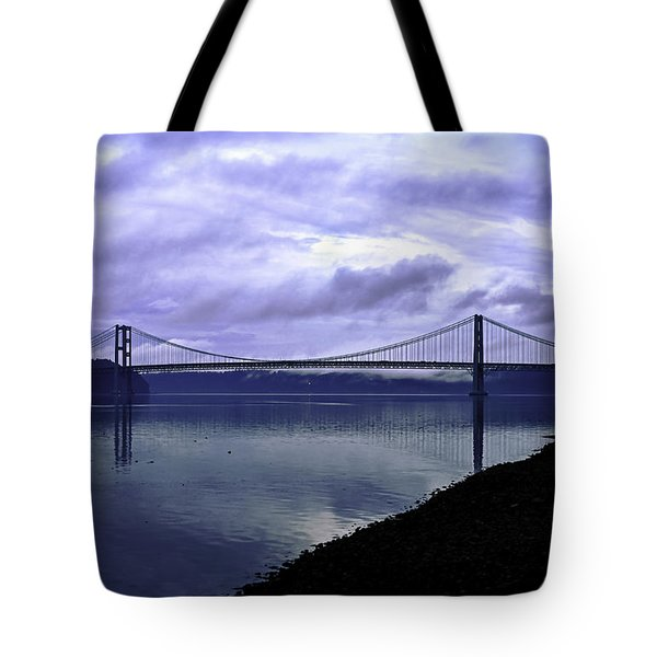Narrows Bridge Tote Bag
