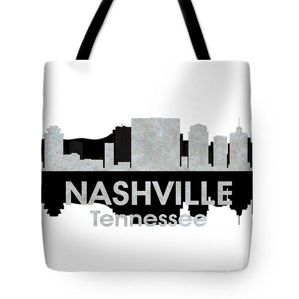 Nashville Tn 4 Tote Bag by Angelina Vick