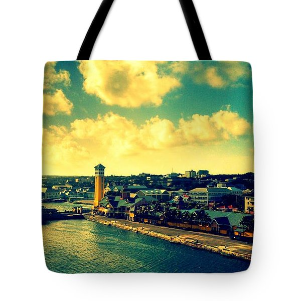 Nassau The Bahamas Tote Bag