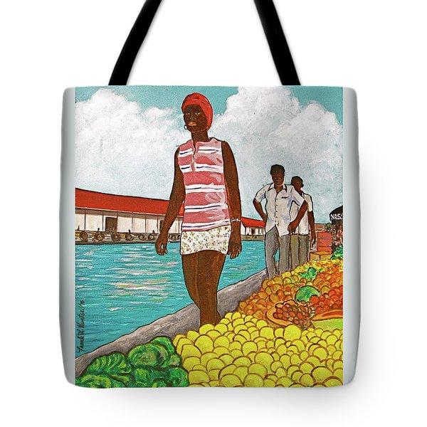 Nassau Woman Tote Bag by Frank Hunter
