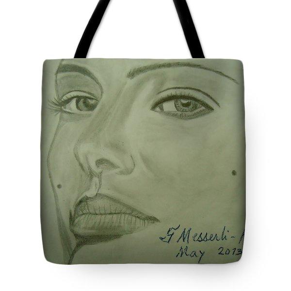 Natalie Tote Bag by Fladelita Messerli-
