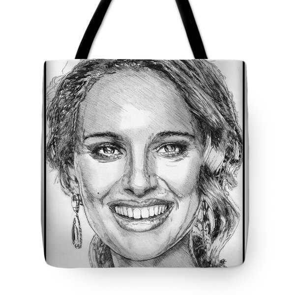 Natalie Portman In 2011 Tote Bag by J McCombie