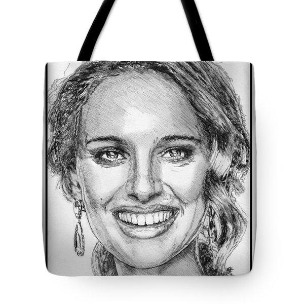 Natalie Portman In 2011 Tote Bag by J McCombie