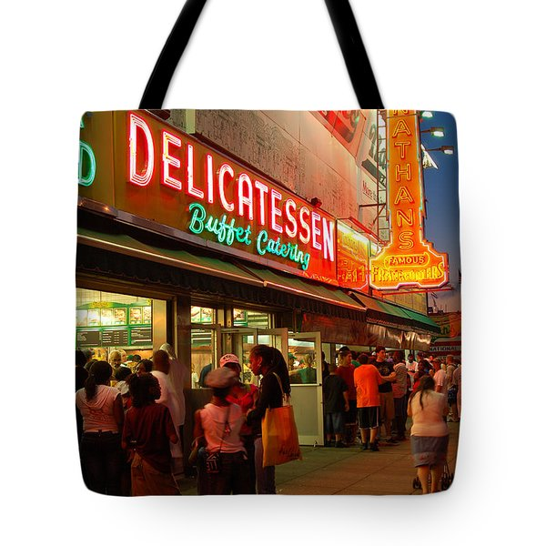 Nathans Coney Island Tote Bag
