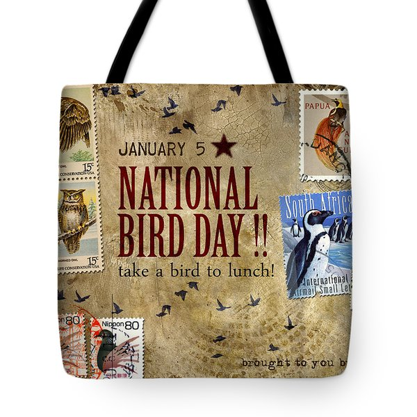 National Bird Day Tote Bag