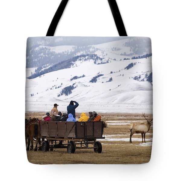 National Elk Refuge Tote Bag