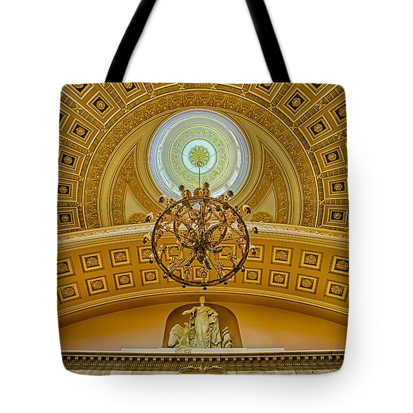National Statuary Hall Tote Bag by Susan Candelario