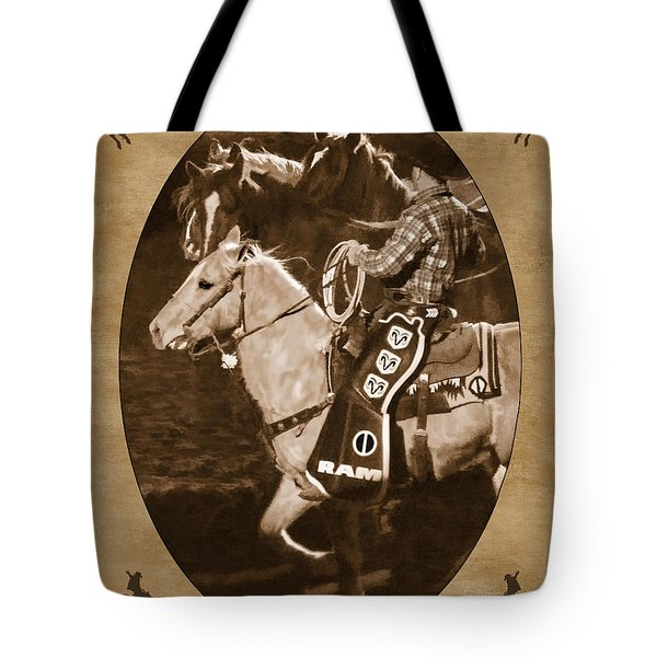 National Western Stock Show Tote Bag by Priscilla Burgers