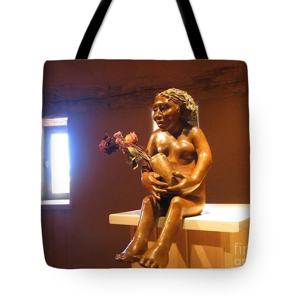 Tote Bag featuring the photograph Native American Art by Dora Sofia Caputo Photographic Art and Design