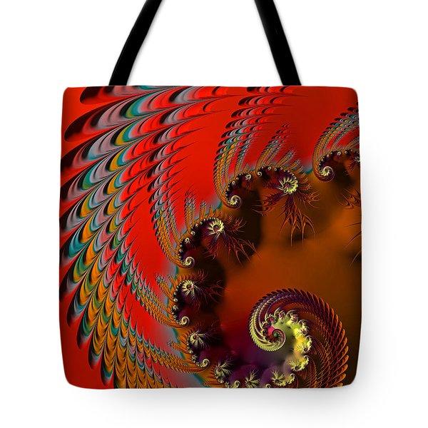 Native American Headdress Tote Bag
