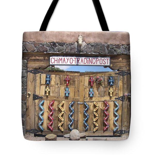 Tote Bag featuring the photograph Native American Trading Post by Dora Sofia Caputo Photographic Art and Design