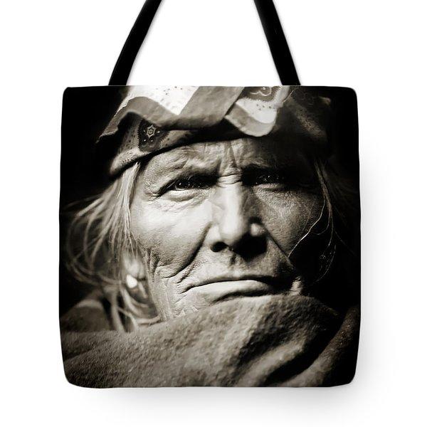 Native American Zuni -  Si Wa Wata Wa  Tote Bag by Jennifer Rondinelli Reilly - Fine Art Photography