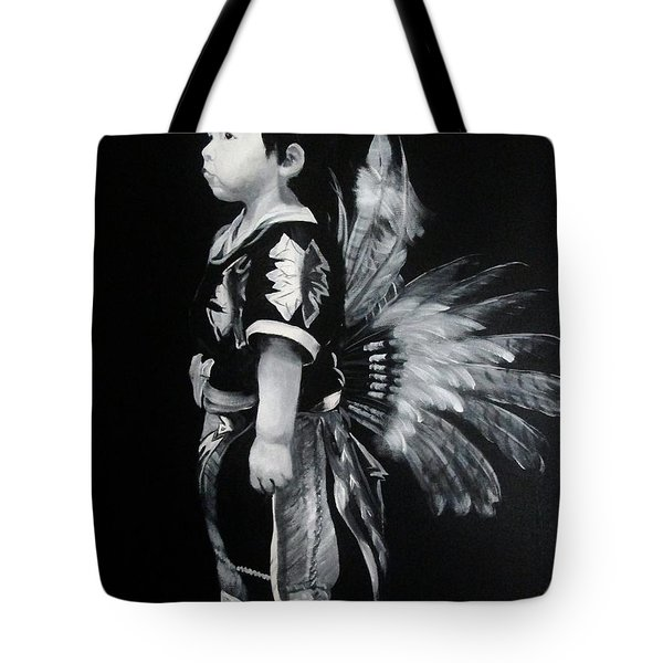 Native Boy Tote Bag