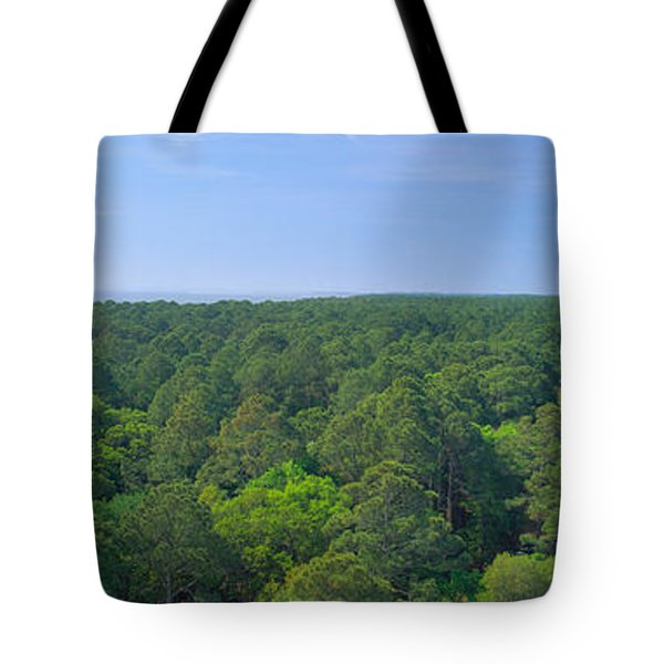 Native Trees At Hunter Island Tote Bag