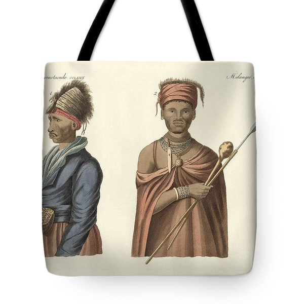 Natives Of South Africa Tote Bag