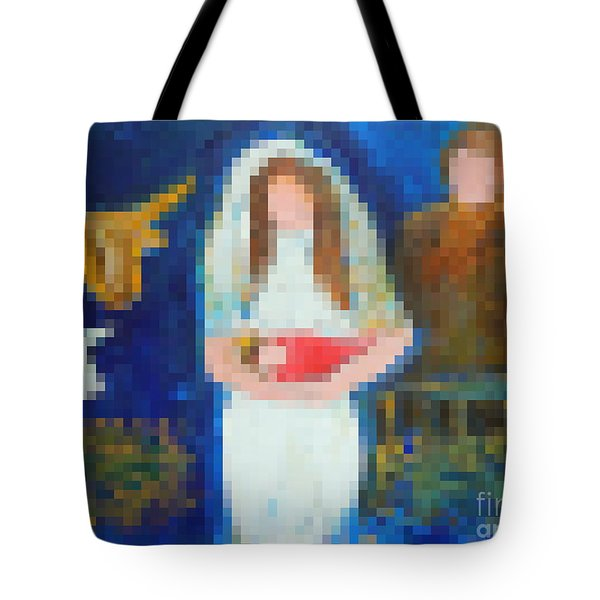 Nativity 1  Tote Bag by Richard W Linford