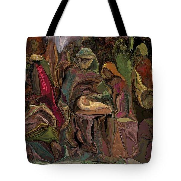 Nativity 1113 Tote Bag by David Lane