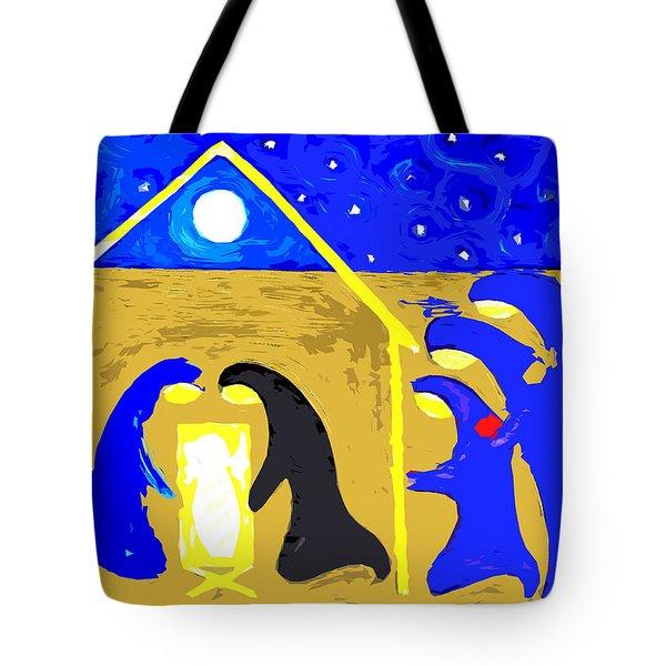 Nativity 2 Tote Bag by Patrick J Murphy