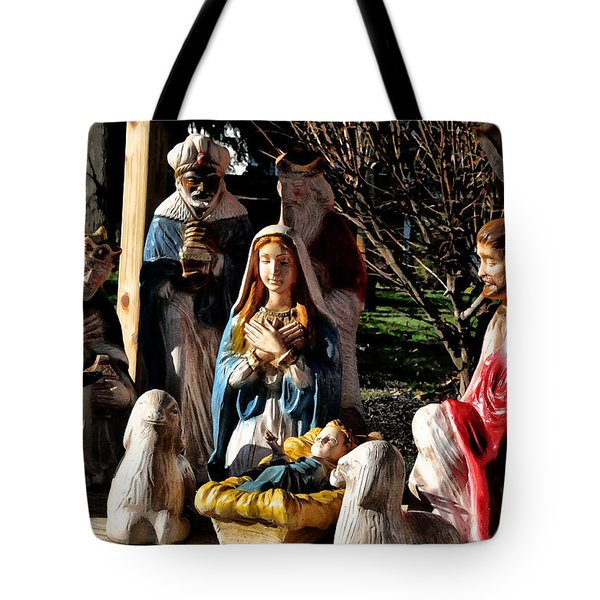 Nativity Tote Bag by Bill Cannon