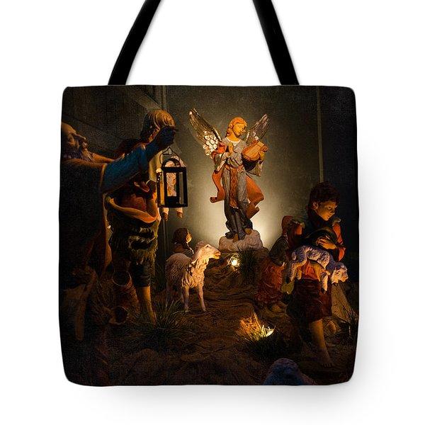 Nativity  Tote Bag by Susan  McMenamin