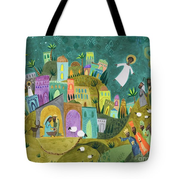 Nativity Three Tote Bag