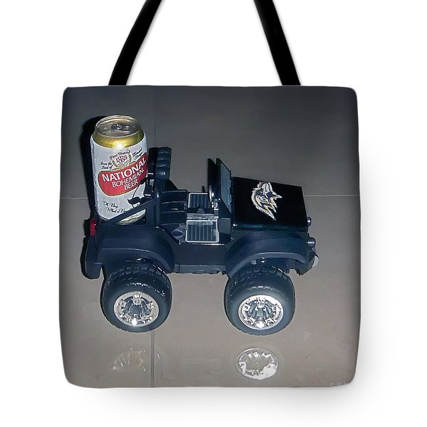 Natty Boh Tote Bag by Brian Wallace