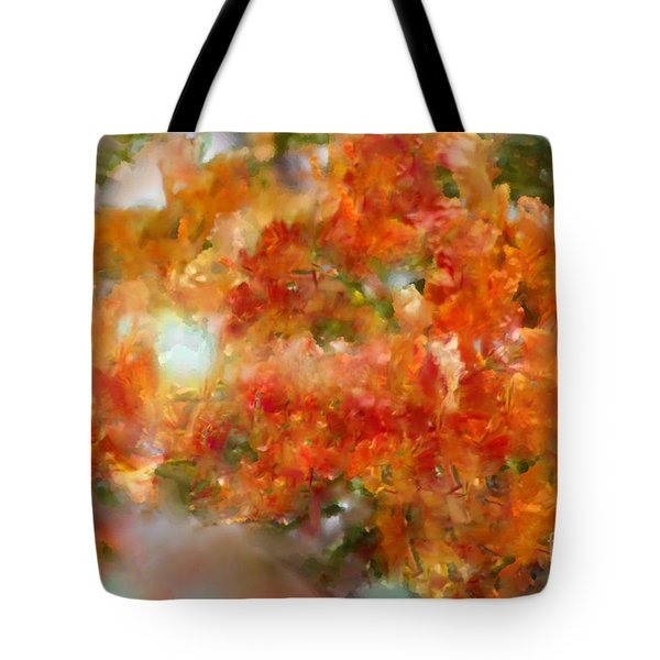 Natural Abstractions #12 The Orange Tree Tote Bag