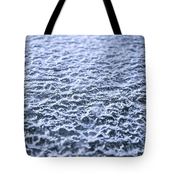 Natural Abstracts - Icy Surface Tote Bag