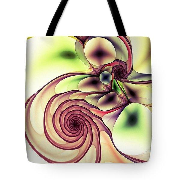 Natural Tote Bag by Anastasiya Malakhova