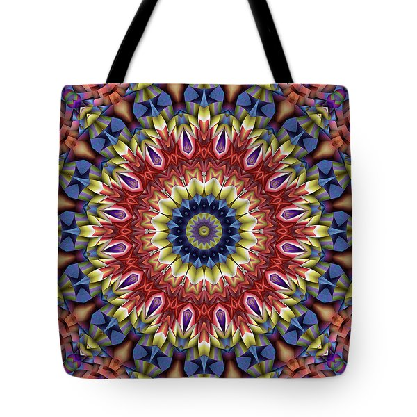 Natural Attributes 13 Square Tote Bag by Wendy J St Christopher