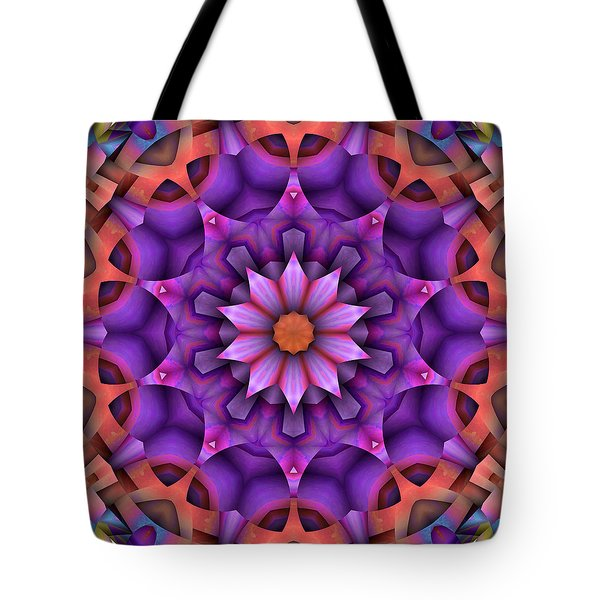 Natural Attributes 15 Square Tote Bag