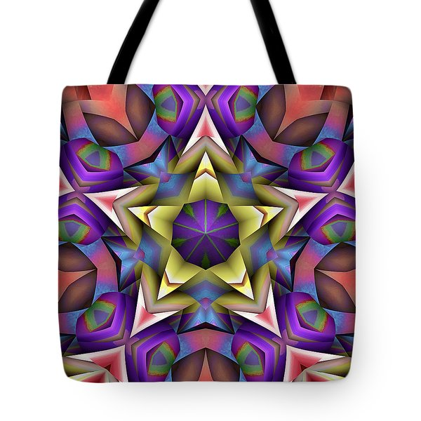 Natural Attributes 16 Square Tote Bag by Wendy J St Christopher