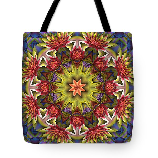 Natural Attributes 18 Square Tote Bag