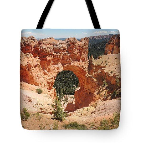 Natural Bridge At Bryce Canyon Tote Bag