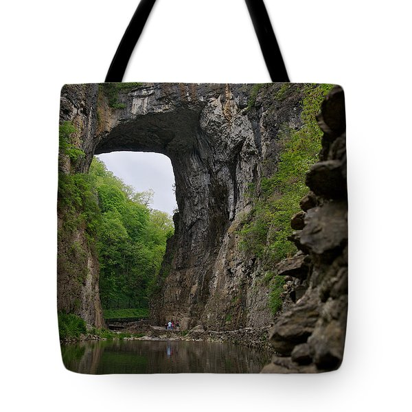 Natural Bridge Tote Bag by Lawrence Boothby
